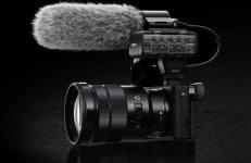 Sony a6300 con microfono esterno
