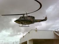 Rolling shutter nelle pale dell'elicottero