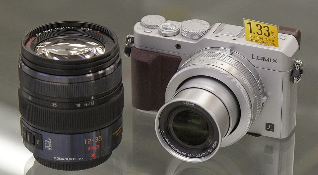 LX100 dimensioni paragone