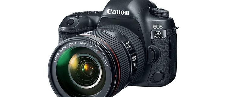 La Canon 5D Mark IV, nuova reflex ammiraglia di Canon