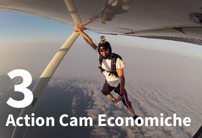3 action cam economiche
