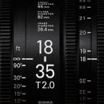 Nuove ottiche cinema da Sigma