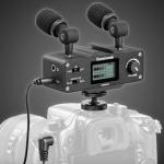 Il Saramonic CaMixer: una soluzione geniale per monitorare l'audio