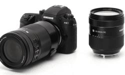 Mirrorless NX1 Samsung con obiettivi