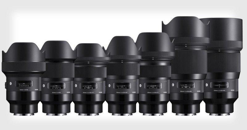 Obiettivi Sigma ART per Sony