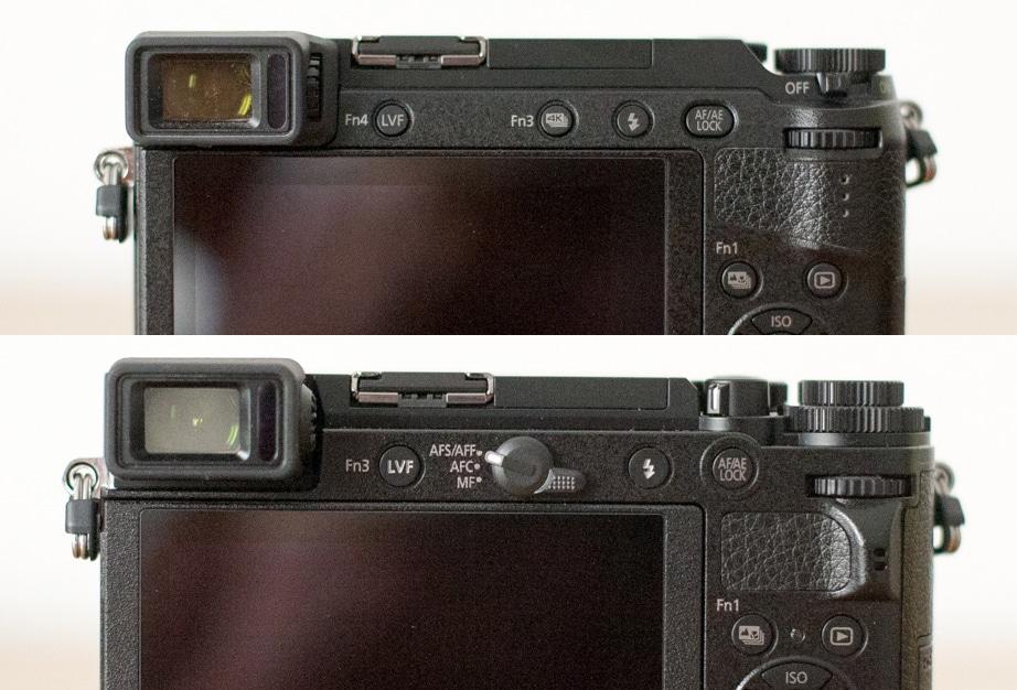 GX9 e GX80 visione posteriore
