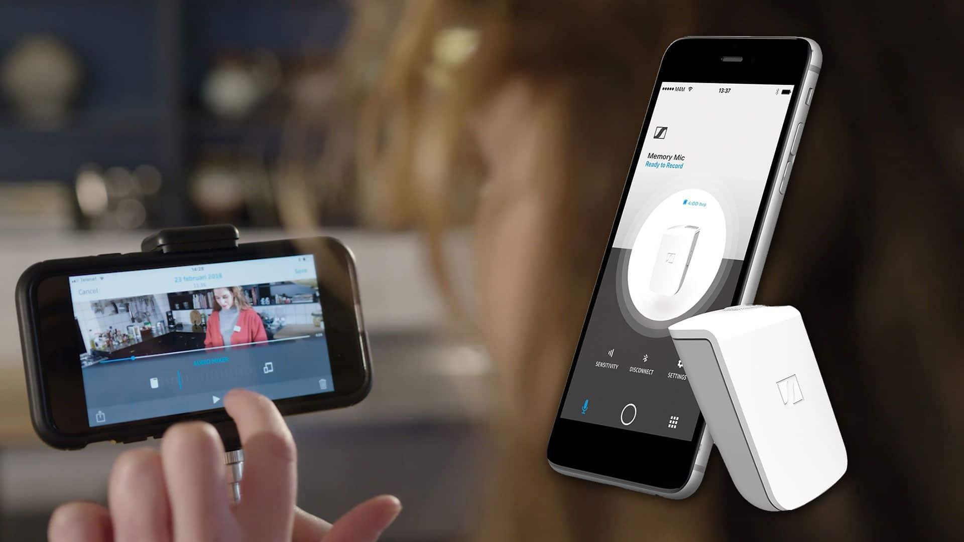 Microfono wifi per smartphone