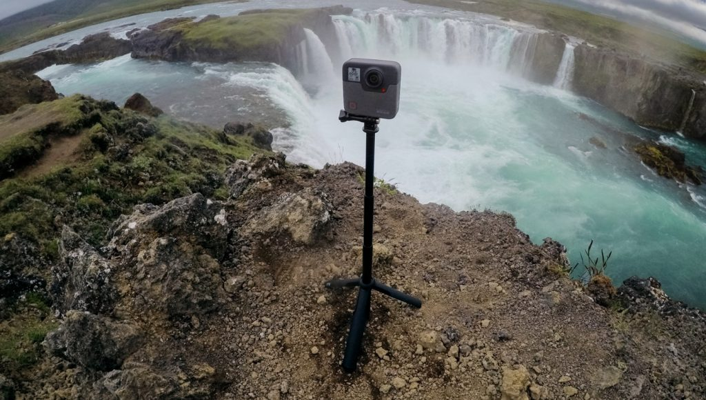 GoPro Fusion in ripresa