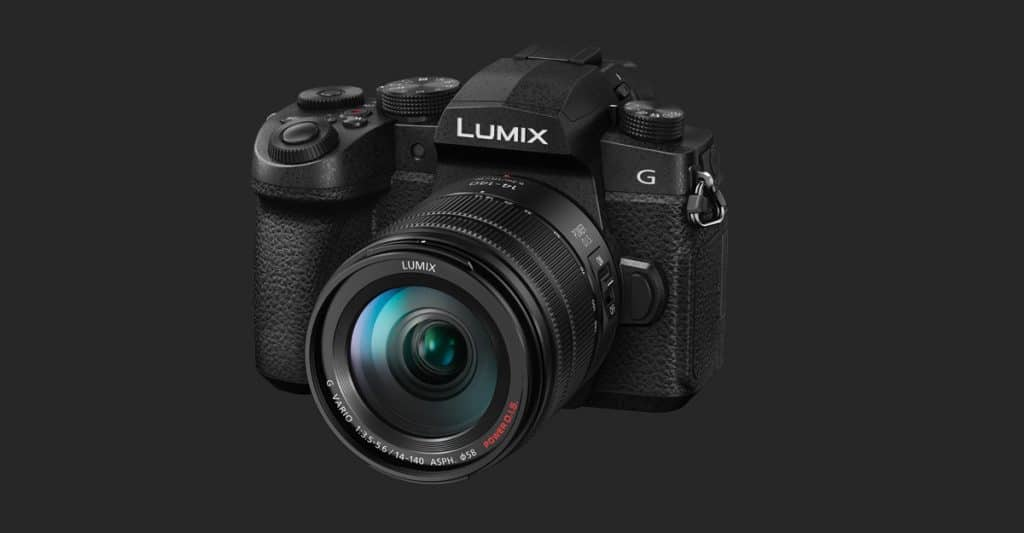 Panasonic G90 con 14-140mm